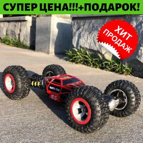 •ОРИГИНАЛ•Leopard King! Машинка перевертыш 34см! ХАЙПЕР! Трансформер!
