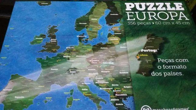 Puzzle da Europa