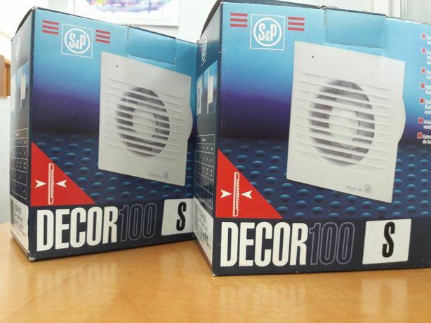 Вытяжной вентилятор Soler & Palau DECOR-100 S (Испания)