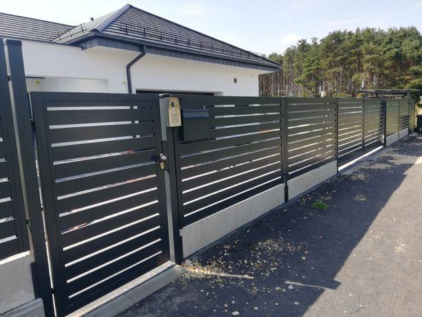 Wyrglas ogrodzenia aluminiowe, bramy, furtki, przęsła