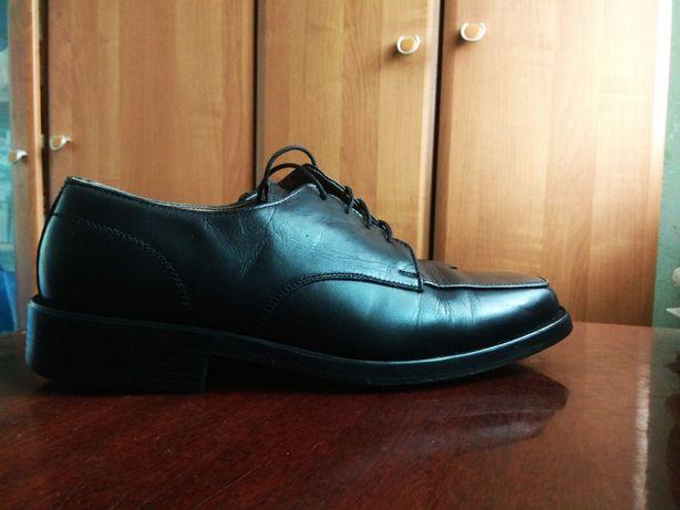 Мужские Туфли Vero Cuoio Made in Italy натуральная кожа размер 42