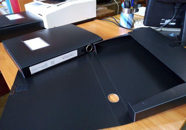 Папка-короб А4 40 мм, на застежке или липучке