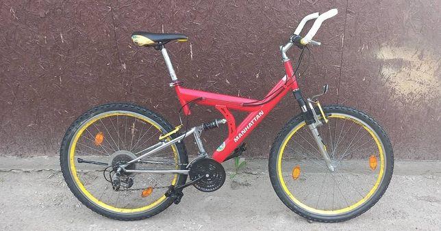 Горный,красивый,на амортизаторах, велосипед из Германии