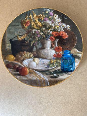Вінтаж: Колекція тарілки -панно «Голандський Натюрморт»