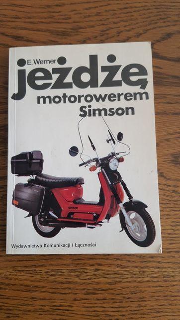 Książkę Jeżdżę motorowerem Simson
