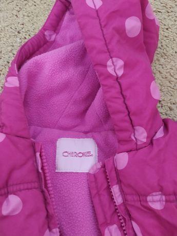 Куртка деми утепленная или евро зима на девочку 3-4 г
