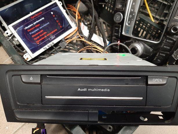 Naprawa, menu Audi MMI 3G, 3G+ w A6 Q5 A4 A5 Q7 A8