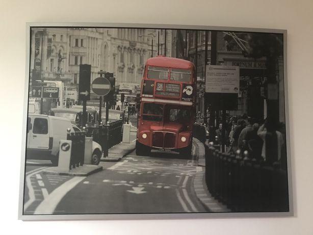 Quadro autocarro em Londres ikea