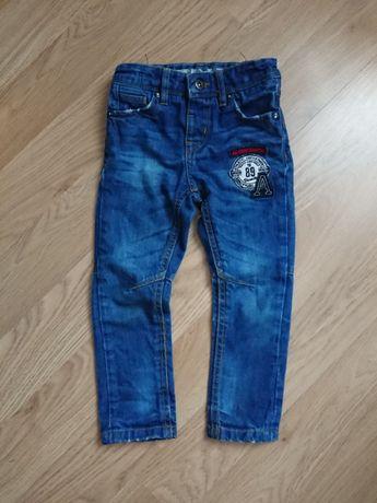 Узкие джинсы для мальчика, узкачи 4-5 лет 110см