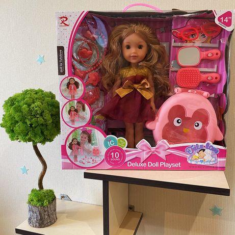 Шикарная кукла Поет песни, говорит