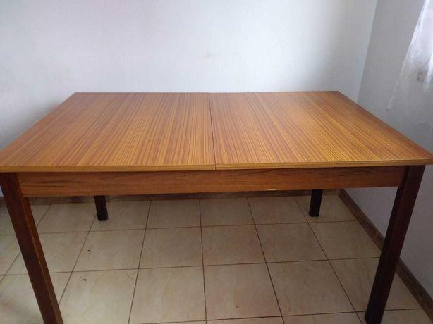 Stół 130x80 prl połysk