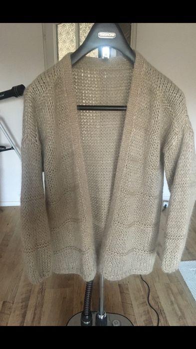 Sweter kardigan włoski moher Warszawa - image 1