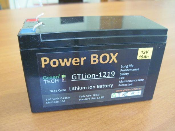 Литиевый аккумулятор PowerBox 12V 24Ah Тяговая батарея