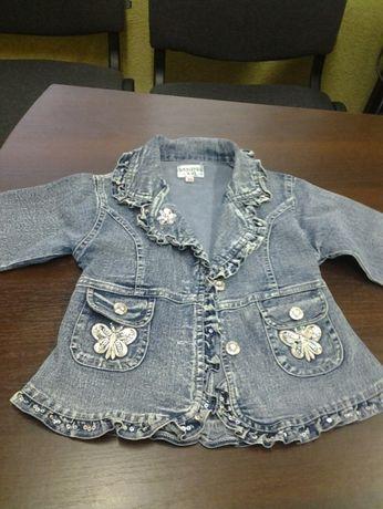 детский плащ и джинсовая курточка