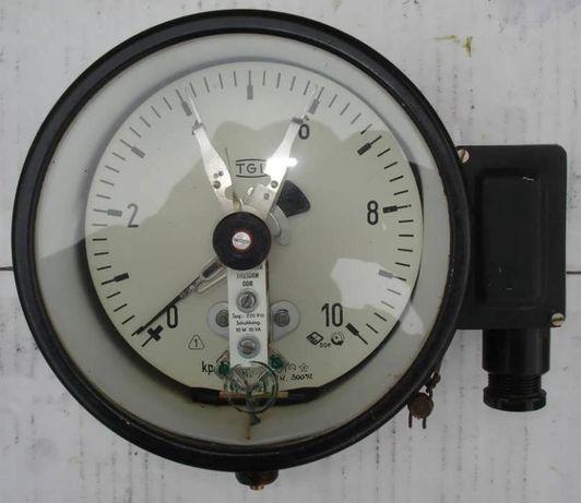 Манометр электроконтактный (сигнализирующий) TGL 10КГ 160мм