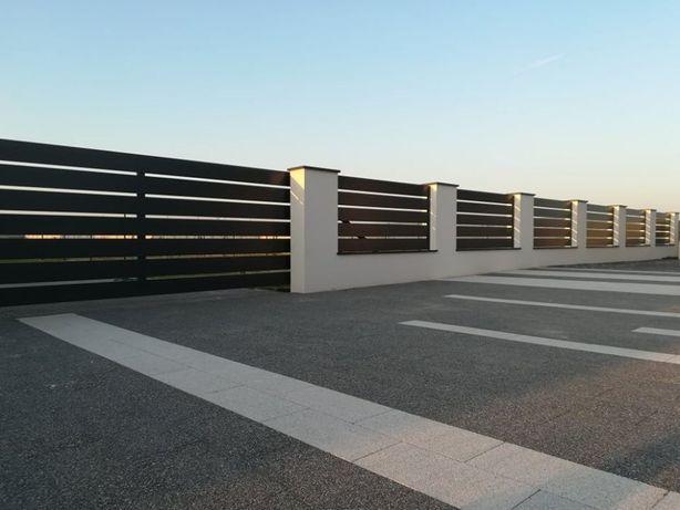 Ogrodzenie panelowe, palisadowe, betonowe, ASF, bramy, furtki, przęsła
