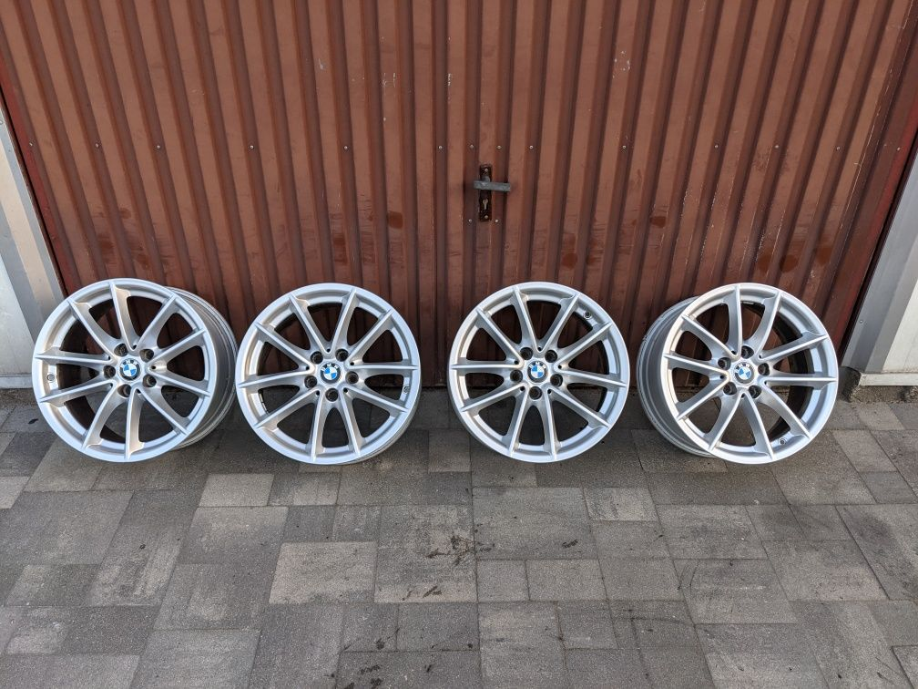 Oryginalne alufelgi BMW X1 G32 5x112 7.5Jx17 ET27 Czujniki VW Audi