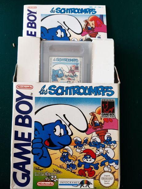 "Jogo Smurfs - ""Les Schtroumpfs"" para Game Boy"
