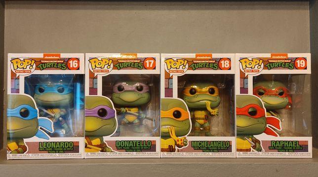 FUNKO POP! Turtles : Leonardo Donatello Michealangelo Raphael! Polecam