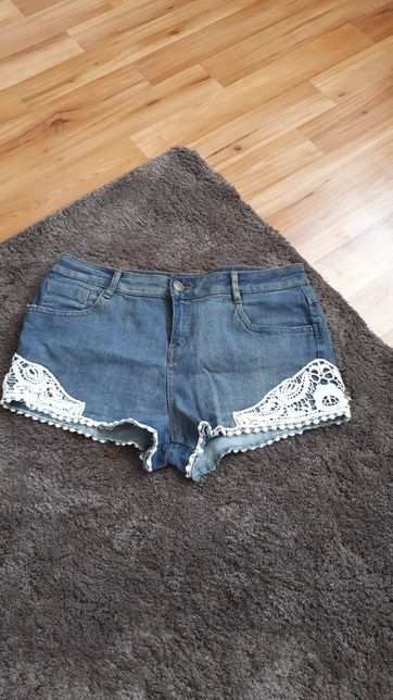 Spodenki jeans r.ML