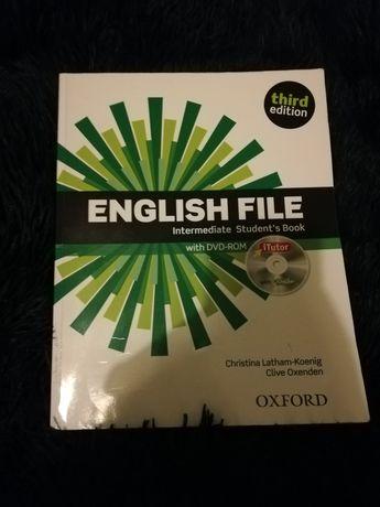 Książka ENGLISH FILE Intermediate Student's Book with DVD-ROM
