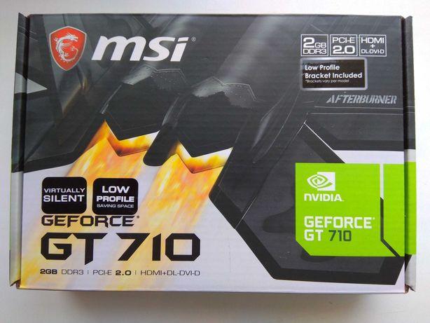 Видеокарта MSI GeForce GT 710 2048 MB DDR3 (64bit) (НА ГАРАНТИИ)