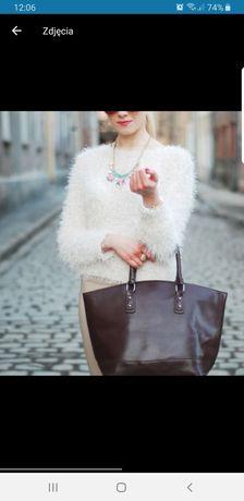 Włochy Sweterek pudrowy róż tally weijl