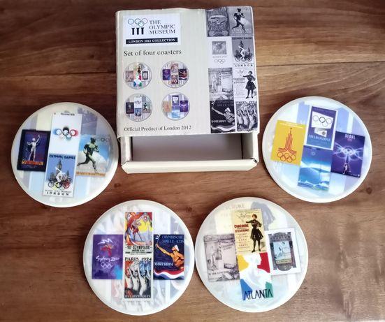 Комплект сувенирных подставок-костеров, Olympic Games, 1948-2012г