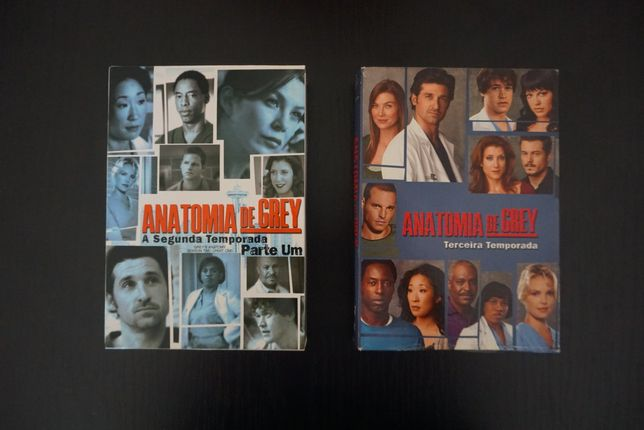 Filmes DVD Séries TV - Anatomia de Grey