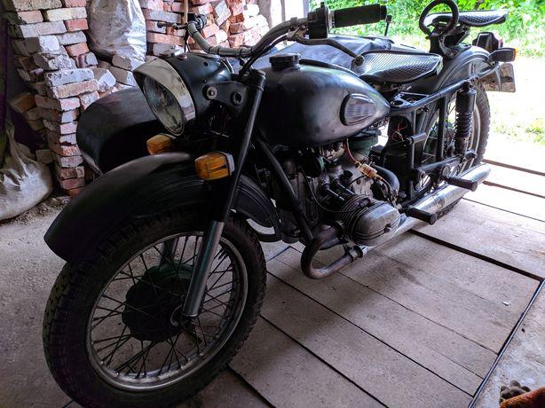 Мотоцикл Урал М-67 12 вольтовый