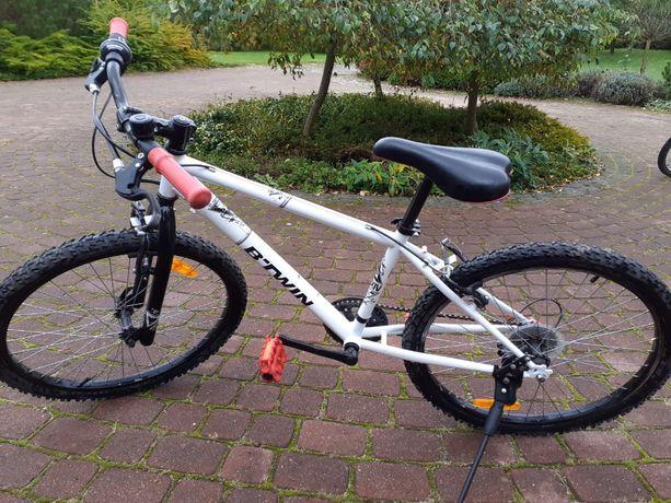 """Rower młodzieżowy B'TWIN Rockrider Unisex koła 24"""""""