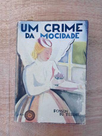 """Livro """"Um Crime da Mocidade"""" Ponson du Terrail"""