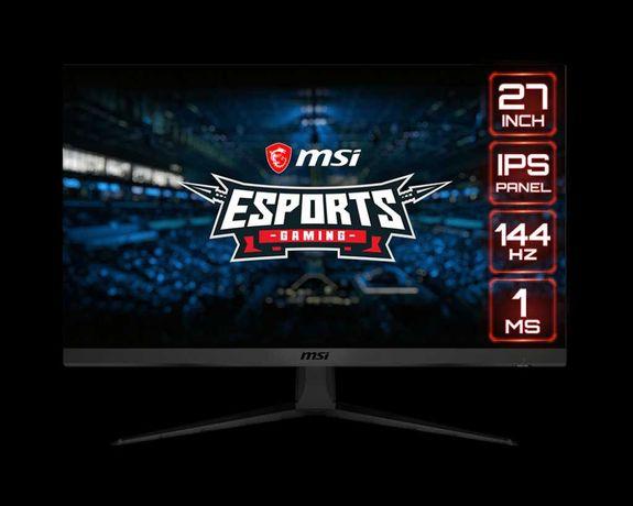 Monitor MSI Optix G271 27 cali IPS gamingowy 144 Hz 1 ms