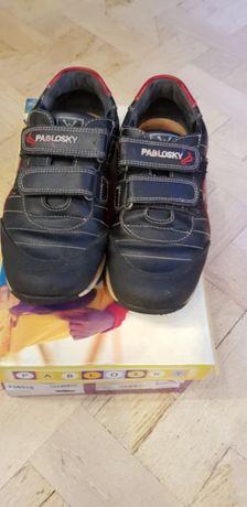 Кроссовки туфли детские Pablosky натуральная кожа размер 37