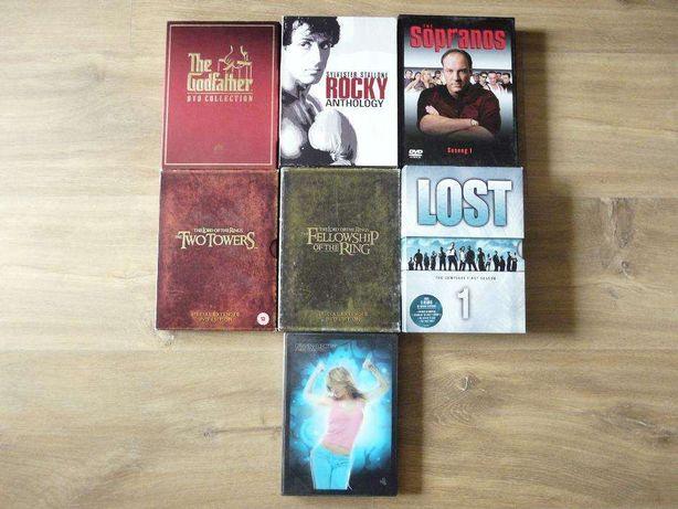 DVD Carmen Electra Fitness Rocky Rodzina Soprano Lost Władca Pierścien