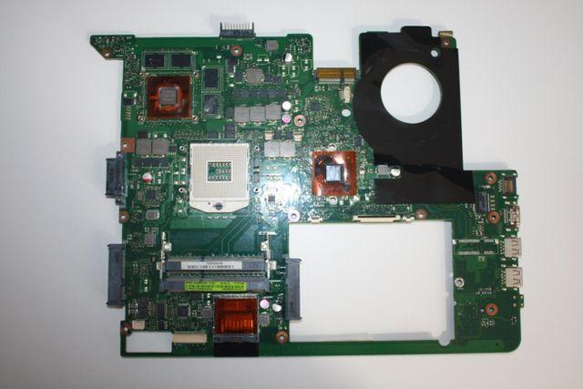 Материнская плата для ноутбуков ASUS N76VB, N76VZ.