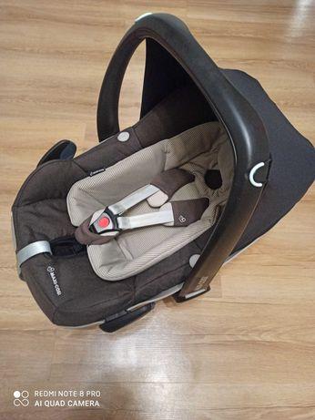 Fotelik Maxi Cosi Pebble Plus 0-12kg brązowy, bezwypadkowy