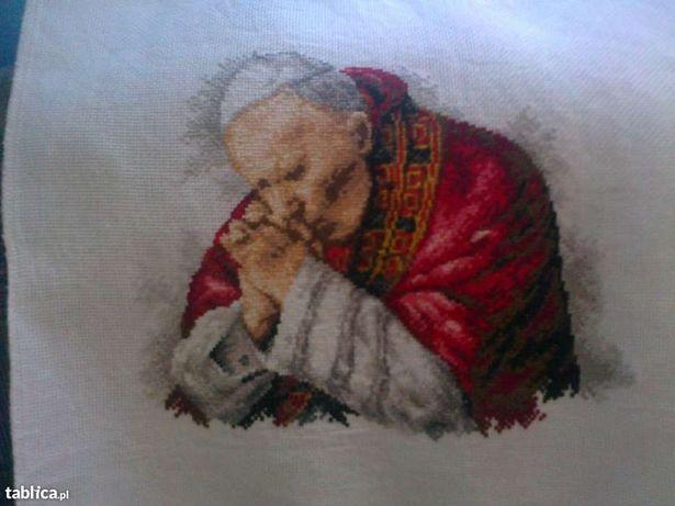 obraz haftowany krzyżykowo