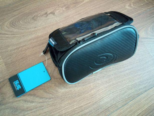 """Велосипедная сумка на раму Roswheel с поддержкой телефонов до 5,5"""""""