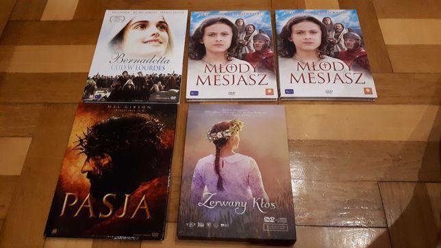 Płyty DVD: Bernadetta, Młody Mesjasz, Pasja, Zerwany Kłos