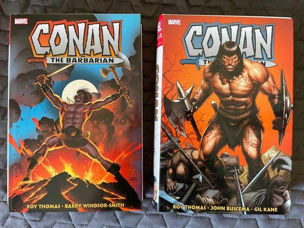Conan The Barbarian: The Original Marvel Years Omnibus Volumes 1 & 2