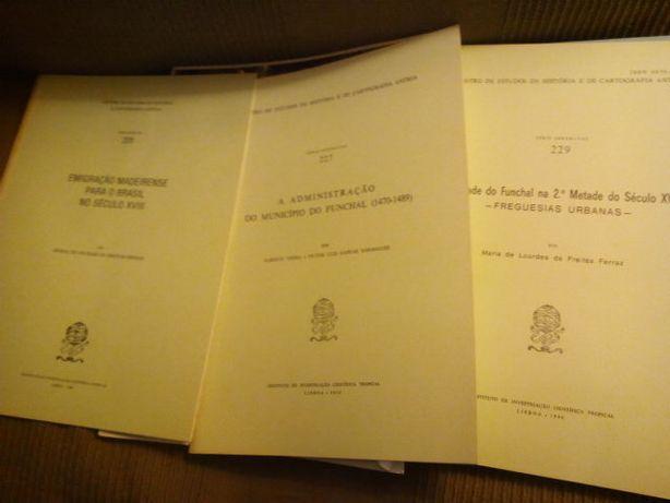 Livros sobre a Ilha da Madeira