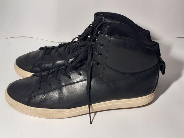 Clae кожаные фирменные ботинки кроссовки хайтопы 44 р.30 см як Nike