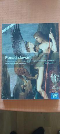 Podręcznik książka do języka polskiego liceum kl.1 Ponad słowami