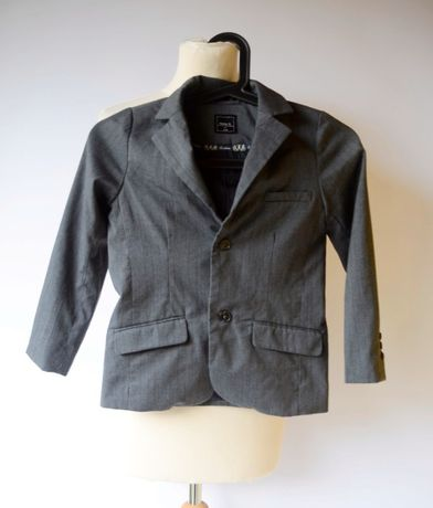 Marynarka Szara Paski Name It 116 cm 6 Wizytowa Zara Reserved H&M C&A