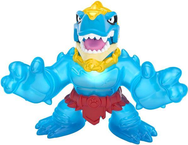 Оригинал! Большой Goo Jit Zu SUPAGOO Dino power Tyro Гуджитсу Гуджицу