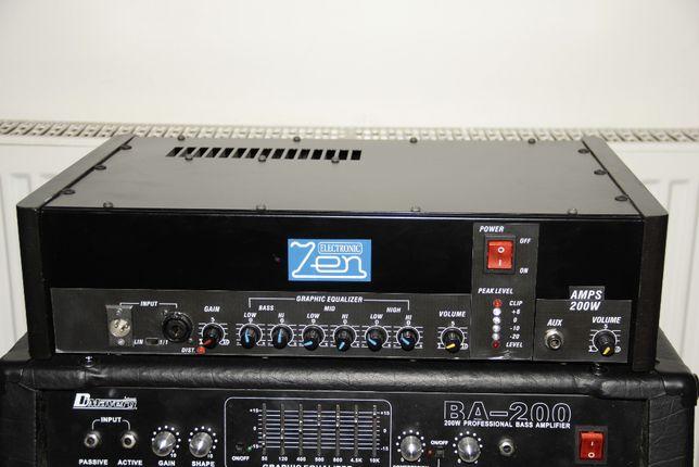 ZEN Electronic wzmacniacz 200W instrument, wokal