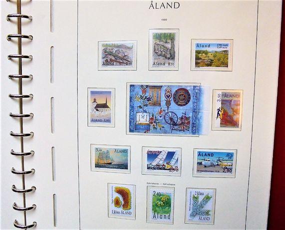 ALAND **MNH** 1984 do 2001 kolekcja w albumie ! GRATIS WYSYŁKA