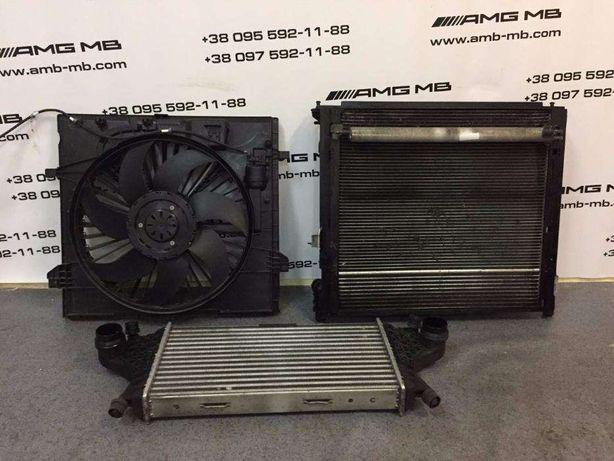 Радиатор Интеркулер GL GLE ML GLS 166 Mercedes Авторазборка