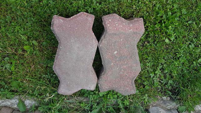 Kostka brukowa uni stone czerwona